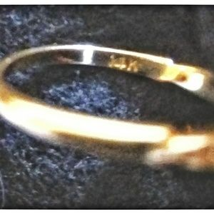 Vintage Jewelry - True Vintage 14 Karat Diamond Ring
